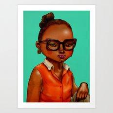 Asa Art Print