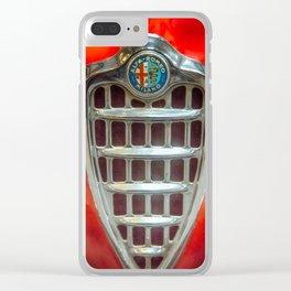 Alfa Romeo Emblem Clear iPhone Case