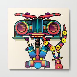 Johnny 5 Metal Print