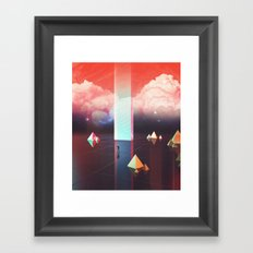 Low cost time travel Framed Art Print