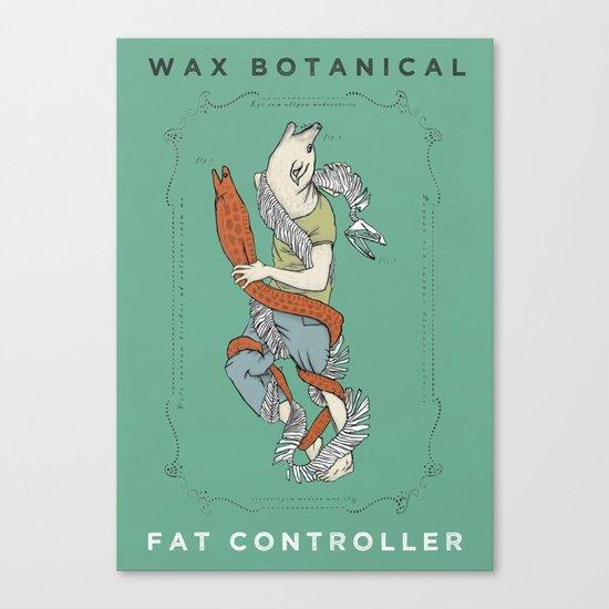 Fat Controller Canvas Print