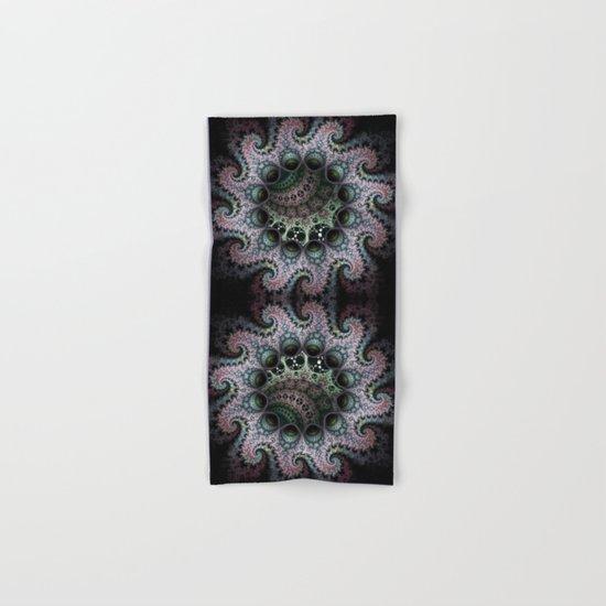 Magical dragon spirals mandala Hand & Bath Towel