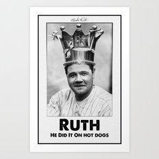 The King Of Swing Art Print