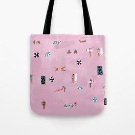 Lay down Tote Bag