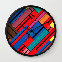 Pokalde_2 Wall Clock