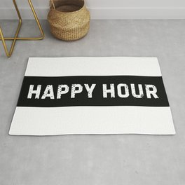 Stamp Series: HAPPY HOUR Rug