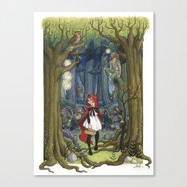 Fairytale crossover Canvas Print