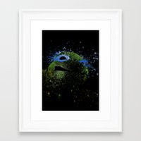 leo Framed Art Prints featuring Leo by Arian Noveir