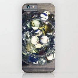 Vintage Glass Marbles 15 iPhone Case