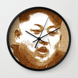 Scrabble Kim Jong Un Wall Clock