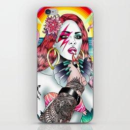 BowieLana iPhone Skin