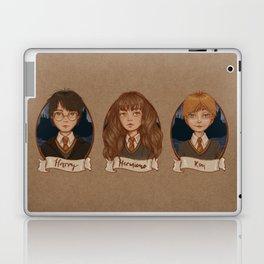 The Golden Trio Laptop & iPad Skin