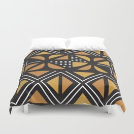 African Tribal Pattern No. 11 Duvet Cover