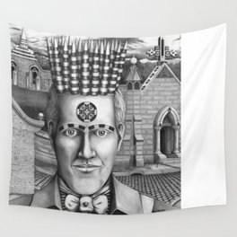 Cemetery Wall Tapestry