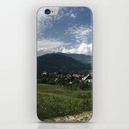 Bohinjska Bistrica iPhone Skin