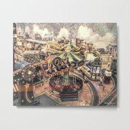 Casino Pier Metal Print