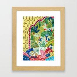 Persian Folktale Framed Art Print
