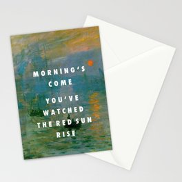 Obvious Impression Stationery Cards