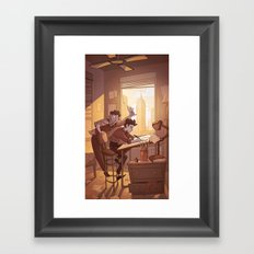 Kavalier & Clay Framed Art Print