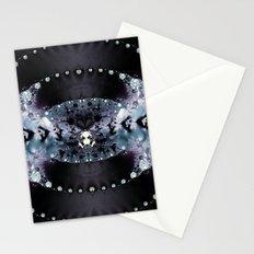 Purple Hole Stationery Cards