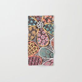 Flowers Hand & Bath Towel