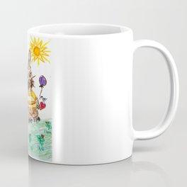 ::  Honey Rabbit on the Knoll :: Coffee Mug