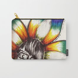 """This Would Be Me If I Looked Like This"" Flowerkid Carry-All Pouch"
