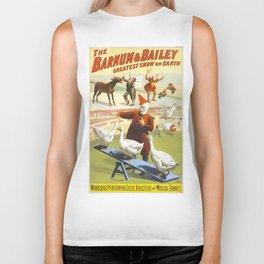 Vintage poster - Circus Biker Tank