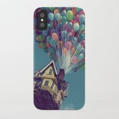 Up, up and away Slim Case iPhone X