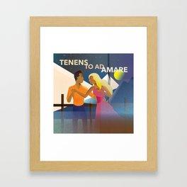 Holding on to Love Framed Art Print