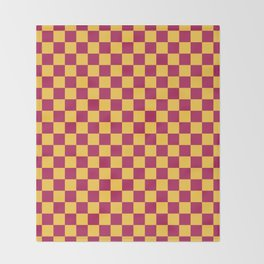 Checkered Pattern VII Throw Blanket