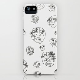 Somewhere over the Moon iPhone Case