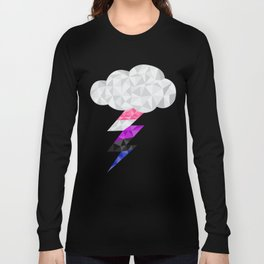 Genderfluid Storm Cloud  Long Sleeve T-shirt