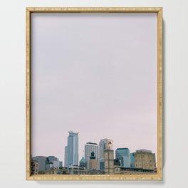 Minneapolis Skyline Serving Tray