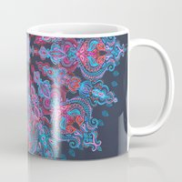 stickers Mugs featuring Escapism  by micklyn