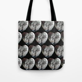 Forest of hearts Tote Bag