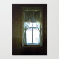 curtains Canvas Print