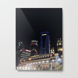 Singapore CBD Metal Print