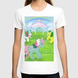 g1 my little pony stylized Fizzy, Gusty and Magic Star T-shirt