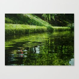 River Reflections Canvas Print