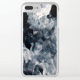 Dark Waters Clear iPhone Case