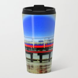 Red Pier- Blue Moon Travel Mug