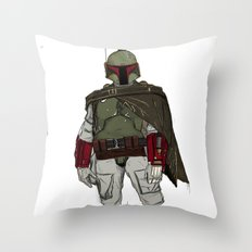 Fistful Of Credits Throw Pillow