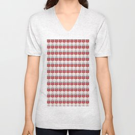 The Can of Soup in the Age of Mechanical Reproduction Unisex V-Neck