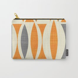 Seventies  orange Carry-All Pouch