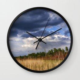 Thunder Sky Wall Clock
