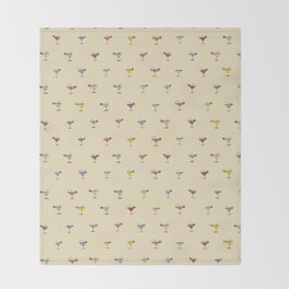 Cocktail Hour Throw Blanket