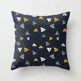 Triangle Trail Throw Pillow
