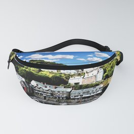 Tide Is Out Water Paint Fanny Pack