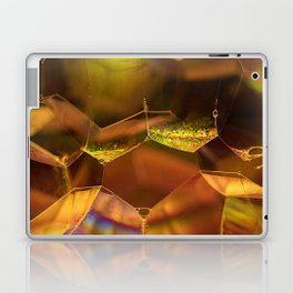 Golden Bubbles Laptop & iPad Skin